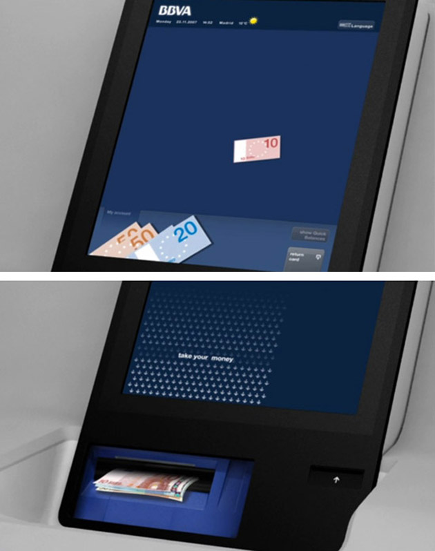 ATM Machine from the video, 'The Future of Self Service Banking'