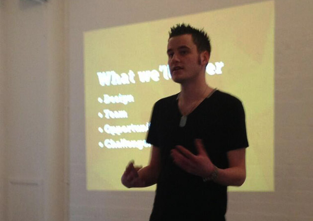 Speaking at Creative Camp 2013 - 'From Student to Startup'