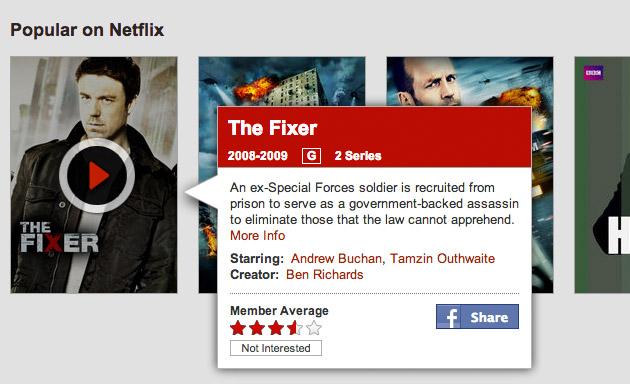 Netflix rating system'