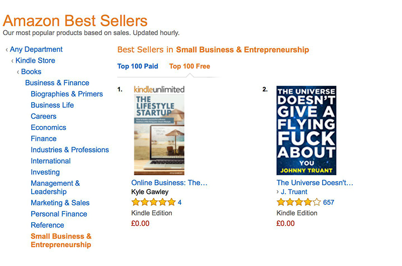 How I Ranked In Amazon S Top 100 Bestsellers In 8 Hours Self